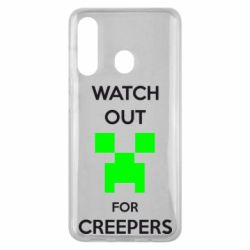 Чехол для Samsung M40 Watch Out For Creepers