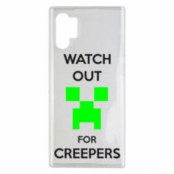 Чехол для Samsung Note 10 Plus Watch Out For Creepers