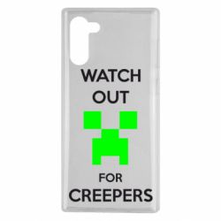 Чехол для Samsung Note 10 Watch Out For Creepers