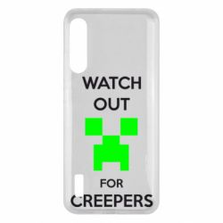 Чохол для Xiaomi Mi A3 Watch Out For Creepers