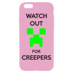 Чехол для iPhone 6 Plus/6S Plus Watch Out For Creepers