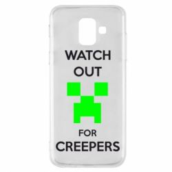 Чехол для Samsung A6 2018 Watch Out For Creepers