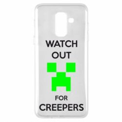 Чохол для Samsung A6+ 2018 Watch Out For Creepers