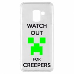 Чехол для Samsung A8 2018 Watch Out For Creepers