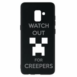 Чехол для Samsung A8+ 2018 Watch Out For Creepers