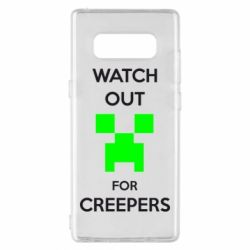 Чехол для Samsung Note 8 Watch Out For Creepers