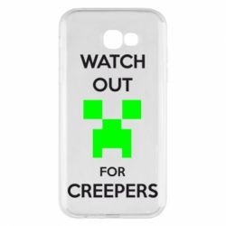 Чехол для Samsung A7 2017 Watch Out For Creepers