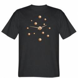 Чоловіча футболка Watches with gradient