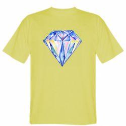 Мужская футболка Watercolor diamond
