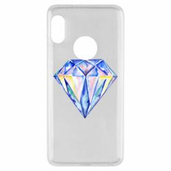 Чехол для Xiaomi Redmi Note 5 Watercolor diamond
