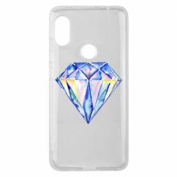Чехол для Xiaomi Redmi Note 6 Pro Watercolor diamond