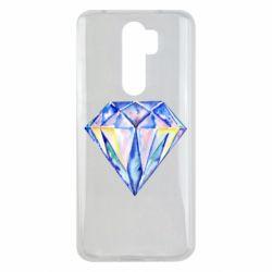 Чехол для Xiaomi Redmi Note 8 Pro Watercolor diamond