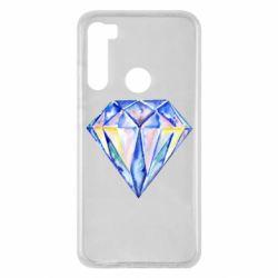 Чехол для Xiaomi Redmi Note 8 Watercolor diamond