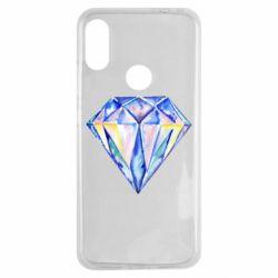 Чехол для Xiaomi Redmi Note 7 Watercolor diamond