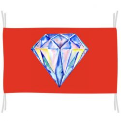 Прапор Watercolor diamond