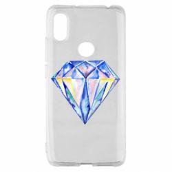 Чехол для Xiaomi Redmi S2 Watercolor diamond