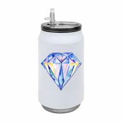 Термобанка 350ml Watercolor diamond