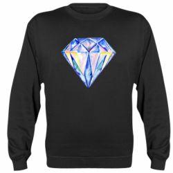Реглан (свитшот) Watercolor diamond