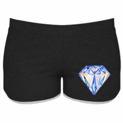 Женские шорты Watercolor diamond