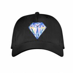 Детская кепка Watercolor diamond