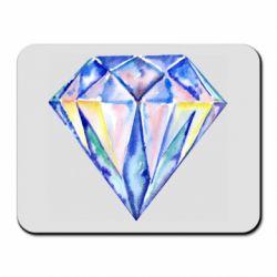 Коврик для мыши Watercolor diamond