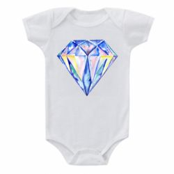 Детский бодик Watercolor diamond