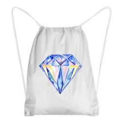 Рюкзак-мешок Watercolor diamond