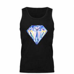 Мужская майка Watercolor diamond