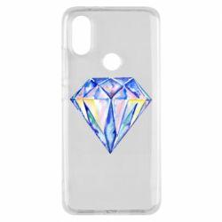 Чехол для Xiaomi Mi A2 Watercolor diamond