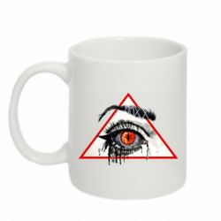 Кружка 320ml Watercolor  Eye in the triangle