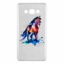 Чехол для Samsung A7 2015 Watercolor horse