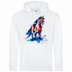 Мужская толстовка Watercolor horse