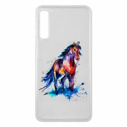 Чехол для Samsung A7 2018 Watercolor horse