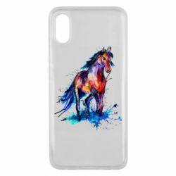 Чехол для Xiaomi Mi8 Pro Watercolor horse