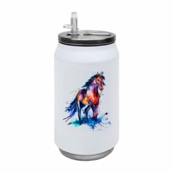 Термобанка 350ml Watercolor horse
