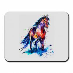 Коврик для мыши Watercolor horse