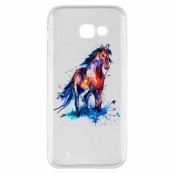 Чехол для Samsung A5 2017 Watercolor horse