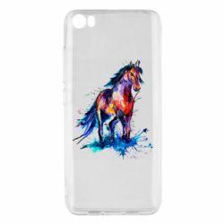 Чехол для Xiaomi Mi5/Mi5 Pro Watercolor horse