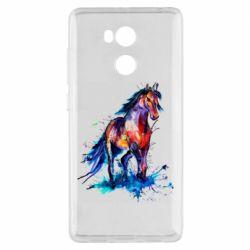 Чехол для Xiaomi Redmi 4 Pro/Prime Watercolor horse
