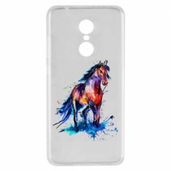 Чехол для Xiaomi Redmi 5 Watercolor horse