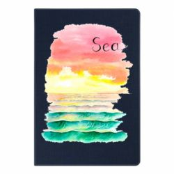 Блокнот А5 Watercolor pattern with sea