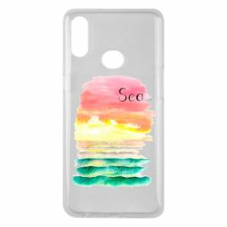 Чехол для Samsung A10s Watercolor pattern with sea