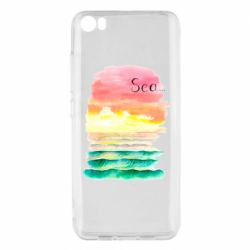 Чехол для Xiaomi Mi5/Mi5 Pro Watercolor pattern with sea