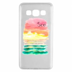 Чехол для Samsung A3 2015 Watercolor pattern with sea