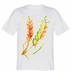 Чоловіча футболка Watercolor spikelets