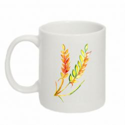 Кружка 320ml Watercolor spikelets