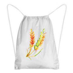 Рюкзак-мішок Watercolor spikelets