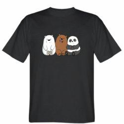 Мужская футболка We are ordinary bears