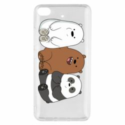 Чехол для Xiaomi Mi 5s We are ordinary bears