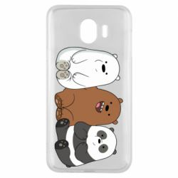 Чехол для Samsung J4 We are ordinary bears